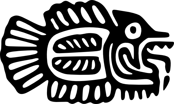 Fish Motif Early Mexico