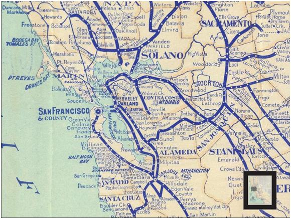 San Francisco Water And Rail Unlike some operators elsewhere, no single agency in the bay area is so omnipresent that its map can effectively function as a regional rail map, at least (if not a regional. gregor us